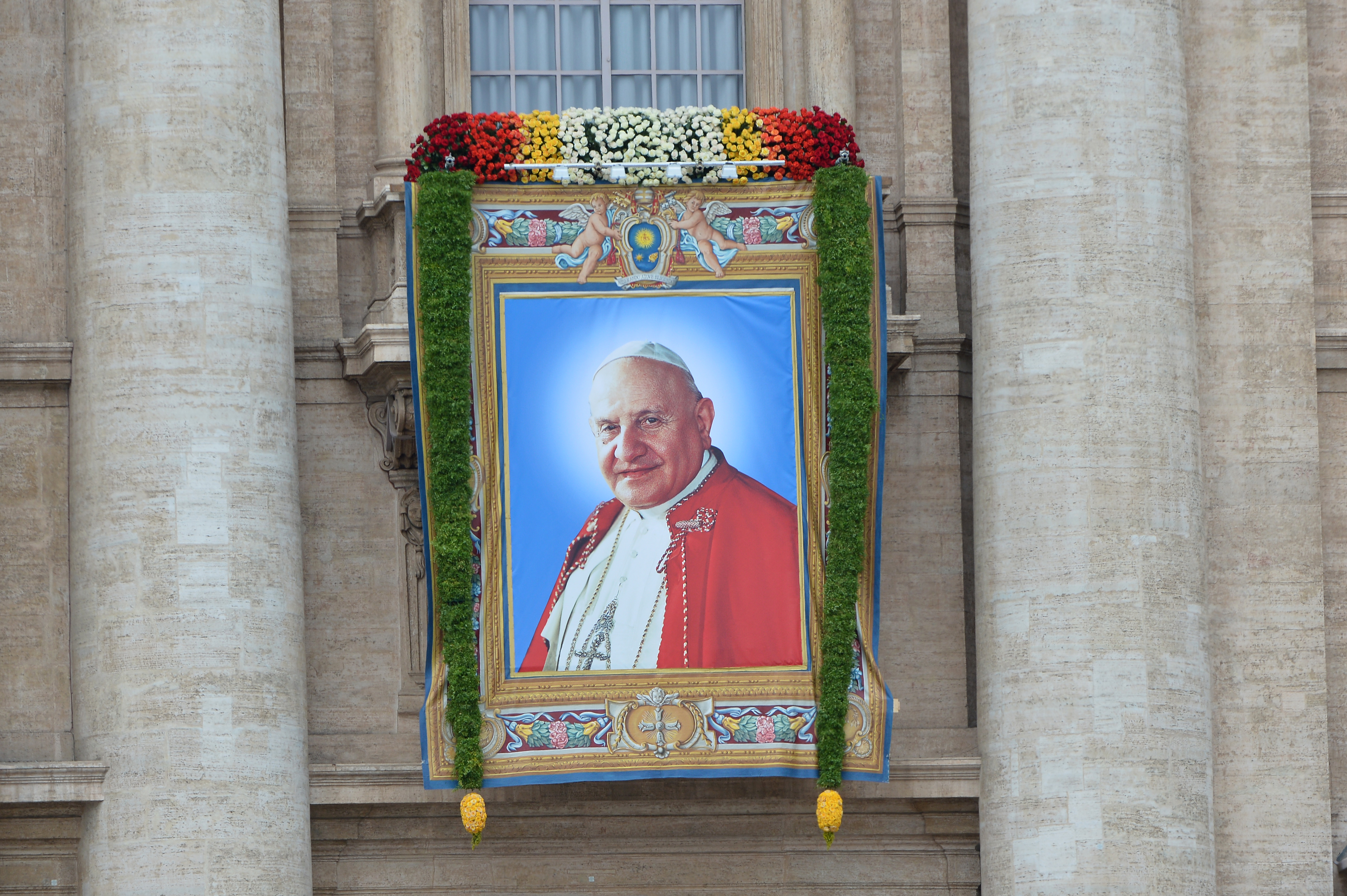Banderole du pape Jean XXIII