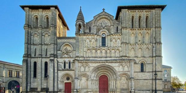 L'église Sainte-Croix à Bordeaux