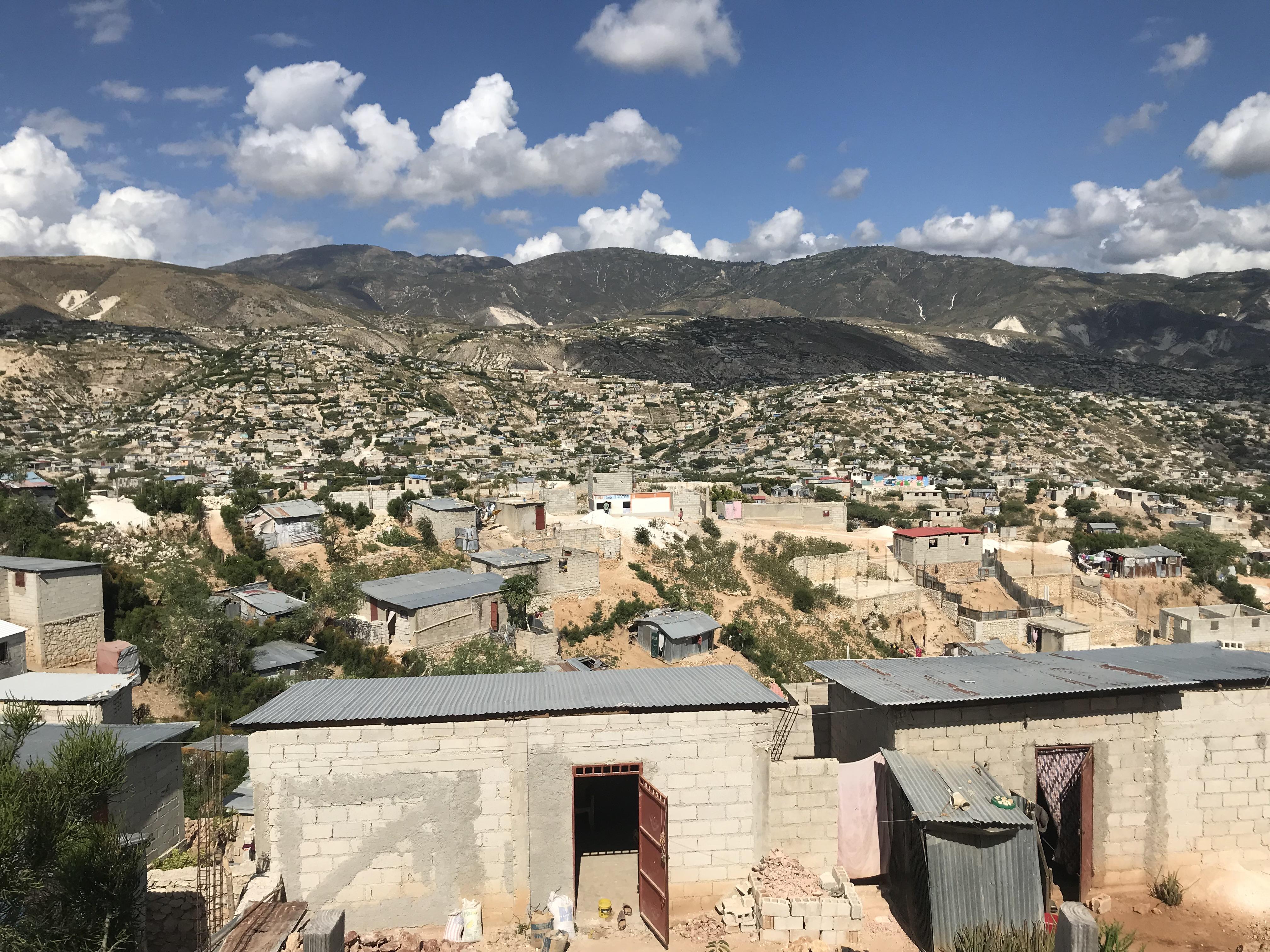 Vue d'Haïti