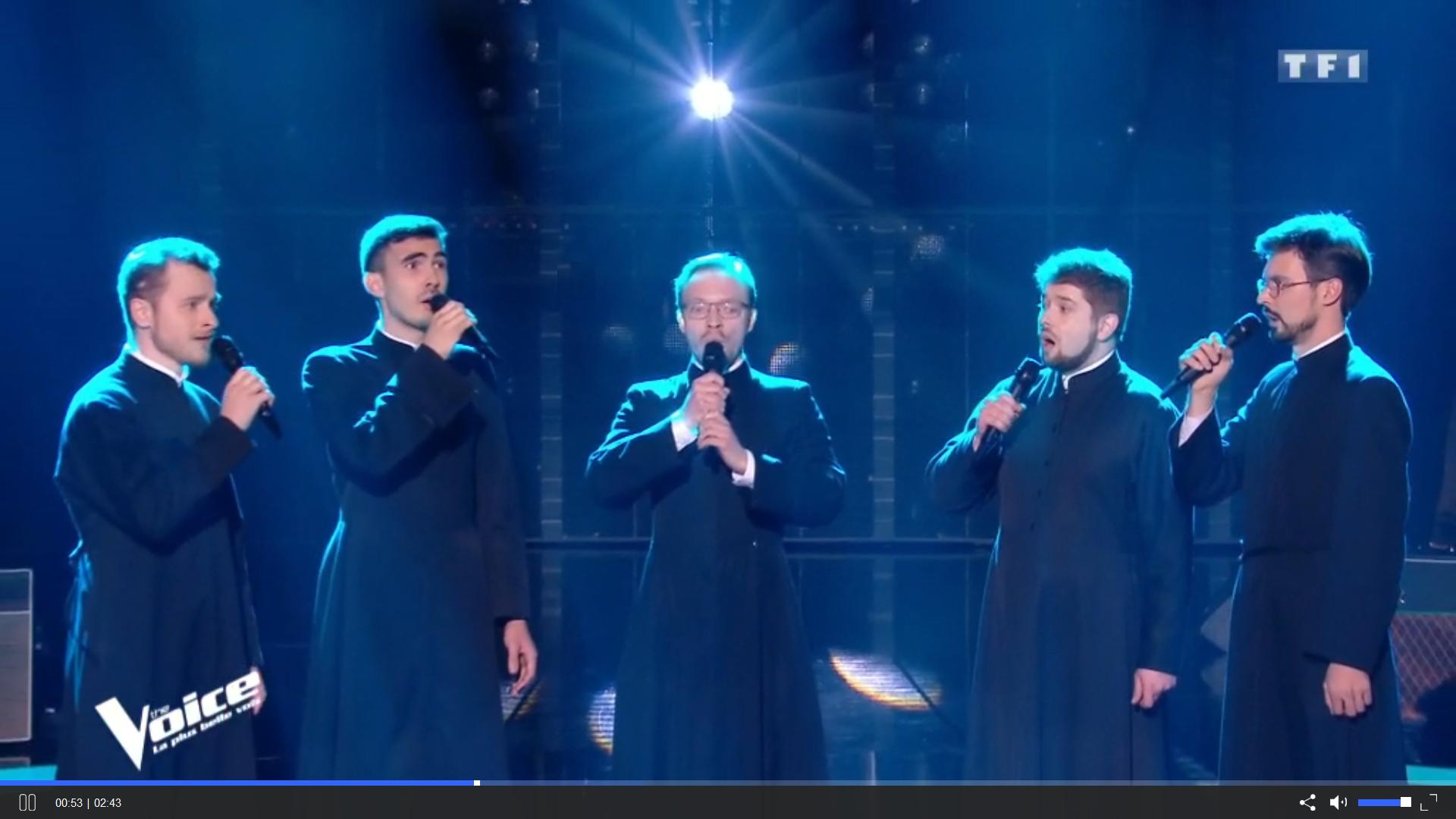 the voice séminaristes russes