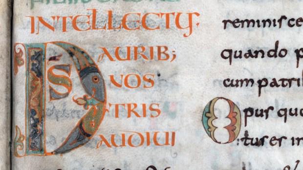 """Le psautier dit """"de Charlemagne"""" a été réalisé à la fin du VIIIè siècle."""
