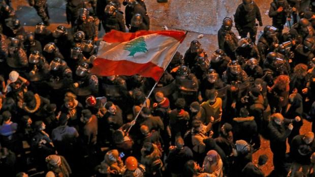 manifestations au Liban