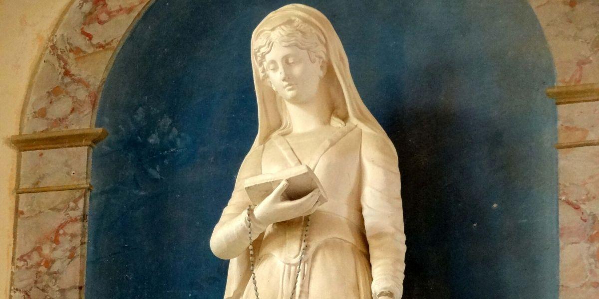 statue de sainte Geneviève