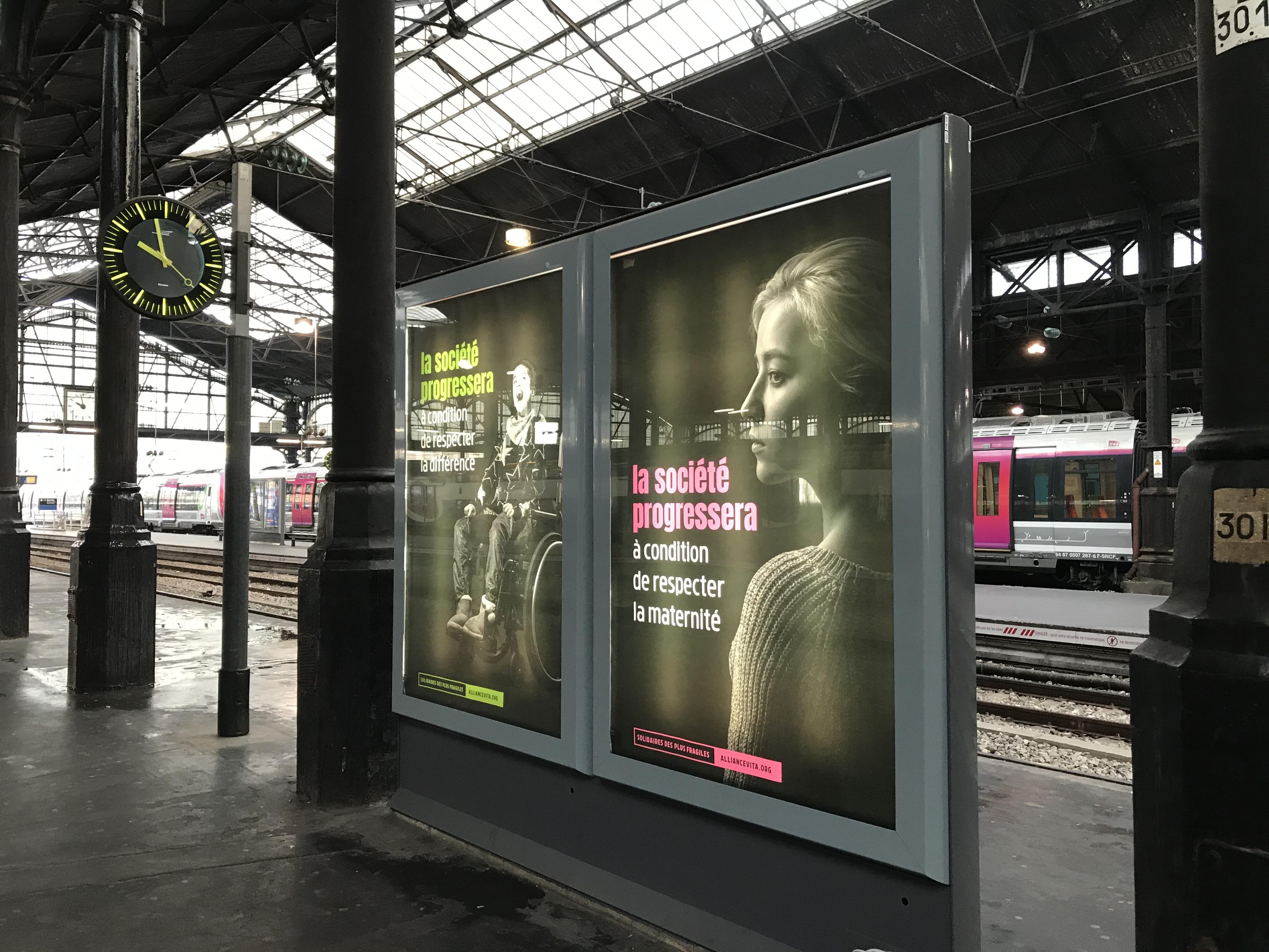 Campagne publicitaire Allance Vita