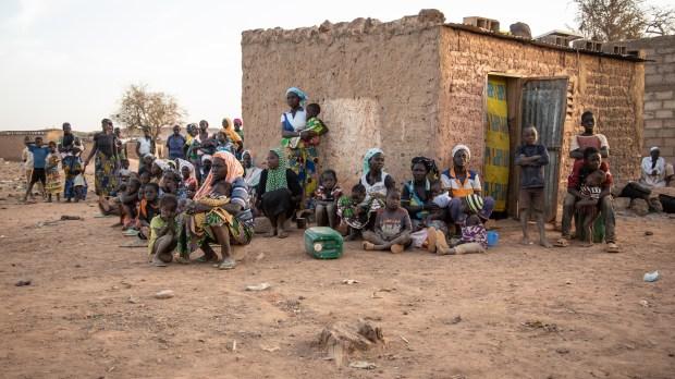 Burkina Faso Displaced