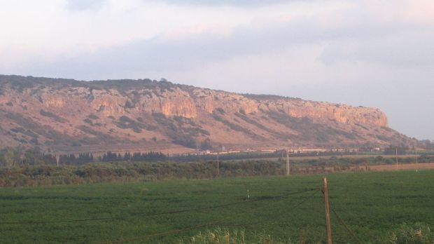 Vue du mont Carmel
