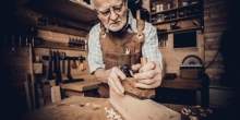 OLD CARPENTER, WOOD,