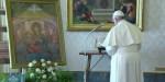Le pape François invoque la protection de la Vierge Marie face à l'épidémie de Coronavirus.
