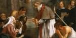 Jacob van Oost le Jeune, Saint Macaire de Gand venant au secours des pestiférés