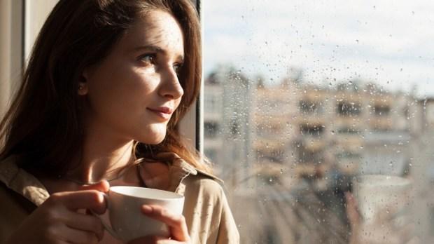 WOMAN, WINDOW,