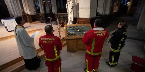 PRIERE A LA VIERGE DES SAPEURS POMPIERS