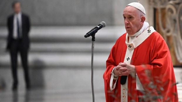 POPE PALM SUNDAY VIRUS