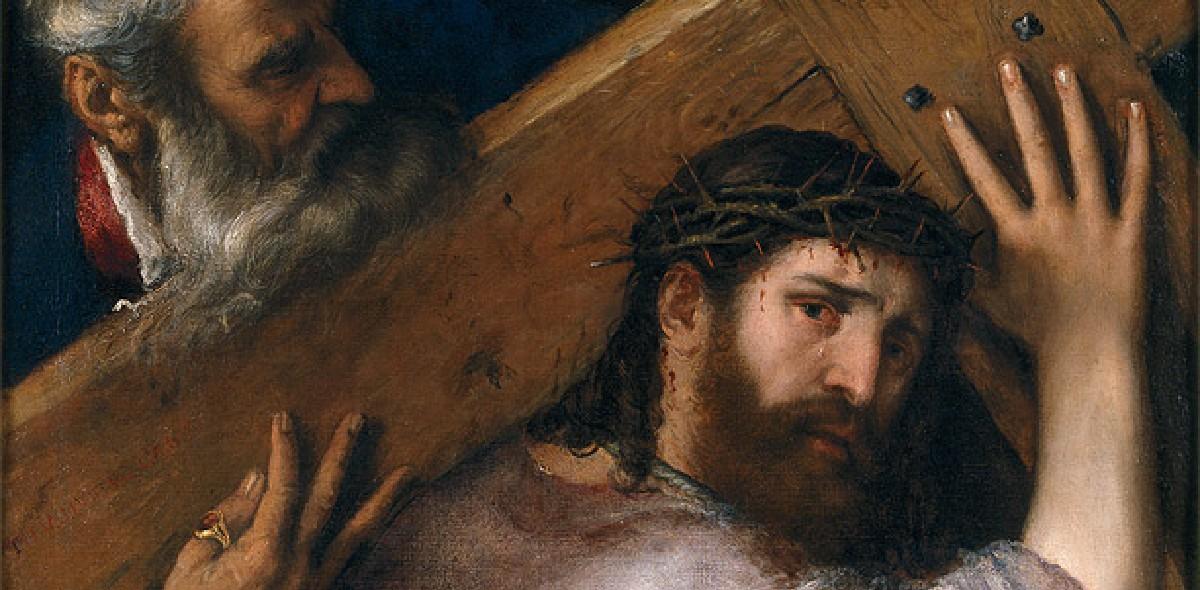 TITIEN Christ portant la croix