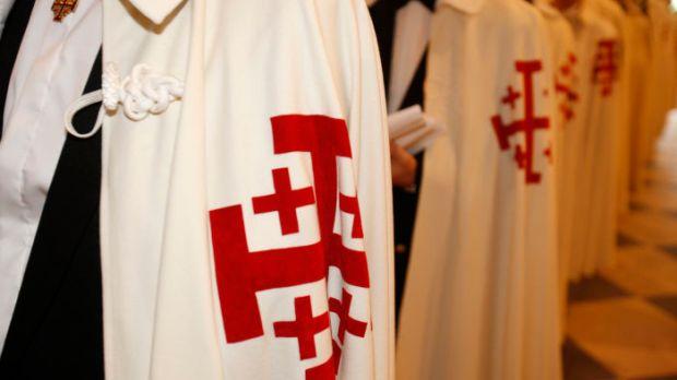Chevaliers de l'Ordre du Saint Sépulcre.