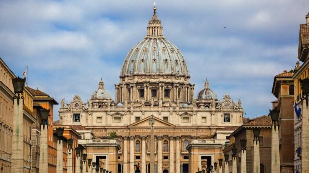 Basilique Saint-Pierre de Rome.
