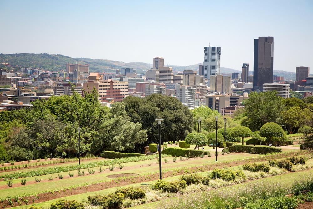 Johannesburg, en Afrique du Sud.