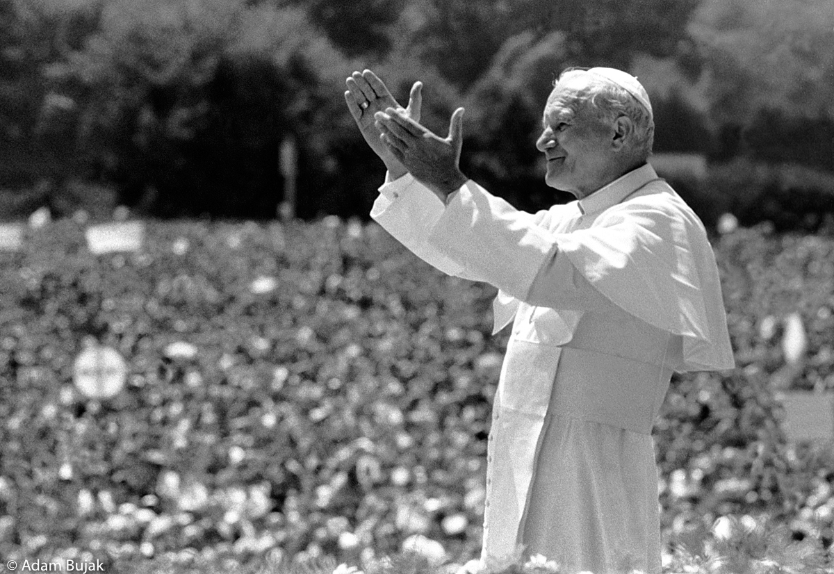 HOLY MASS CELEBRATED BY JOHN PAUL II, CRACOW, JUNE 22, 1983.