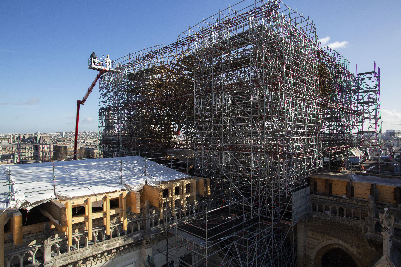 Echafaudage Notre Dame