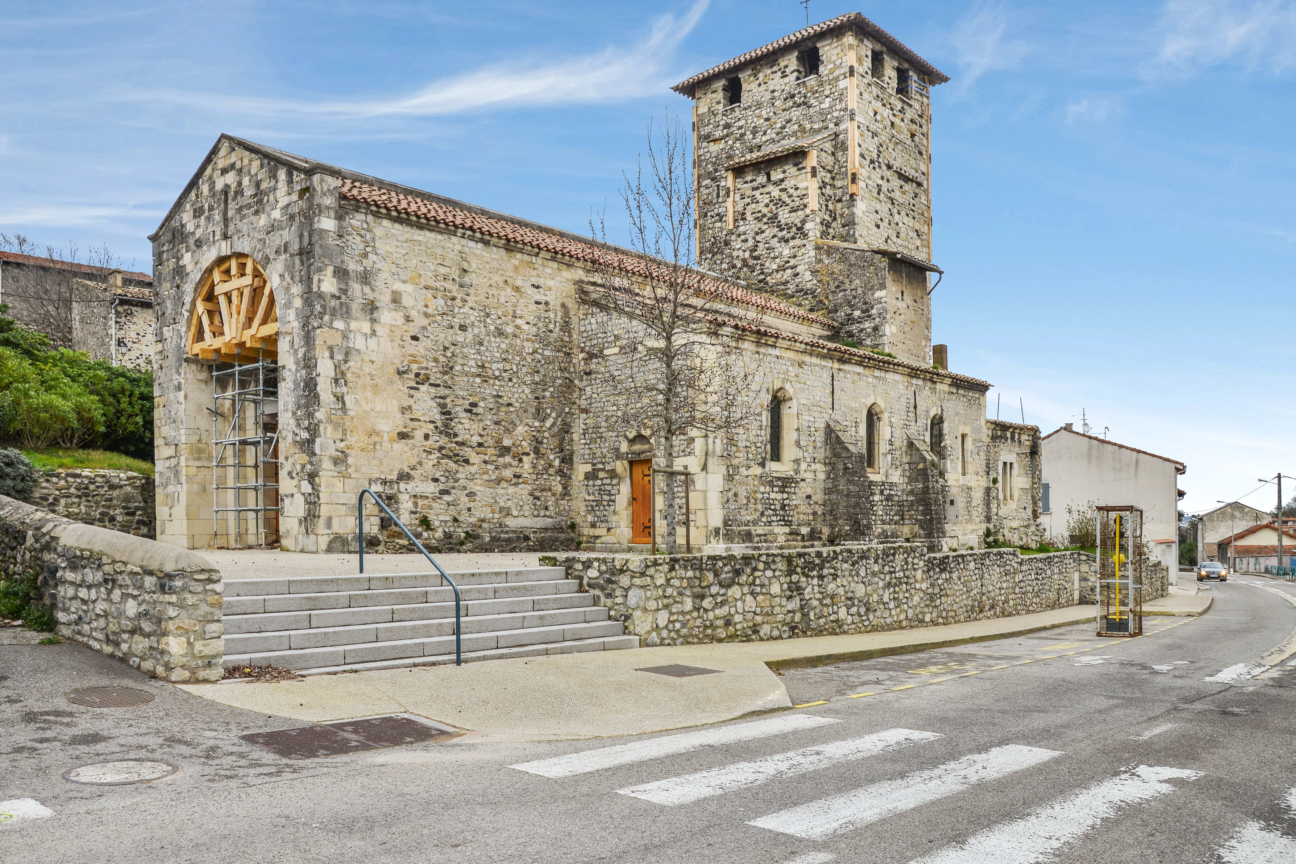 Eglise Saint Etienne, Mélas du Teil (Rhône).