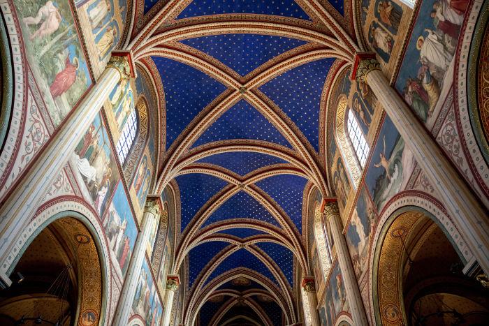 Église Saint Germain des Près, à Paris.