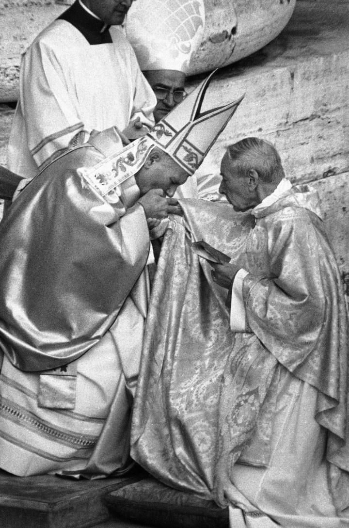 JAN PAWEŁ II I KARDYNAŁ WYSZYŃSKI