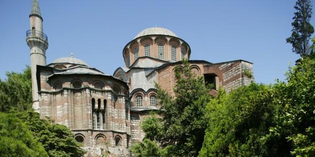 l'église Saint-Sauveur-in-Chora Turquie