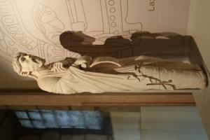 The tomb of St Lazare of Autun