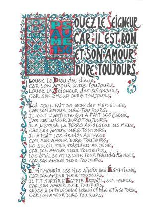 BIBLE MANUSCRITE ; Alliance biblique française