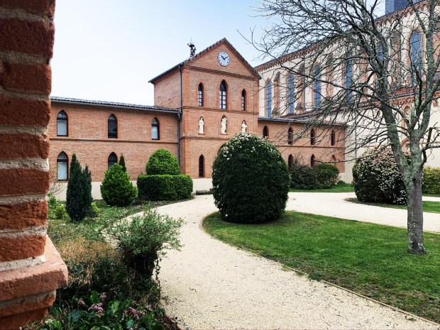 Toulouse : après le départ des moines, l'abbaye Sainte-Marie-du-Désert  conservera sa tradition d'accueil