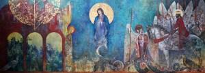La fresque d'Augustin Frison-Roche à Saint Malo