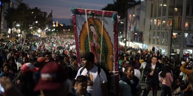 Pélerinage de la Vierge de Guadalupe au Mexique