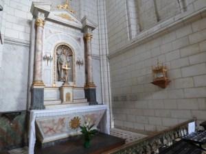 la relique de Jean Paul II, Montrésor