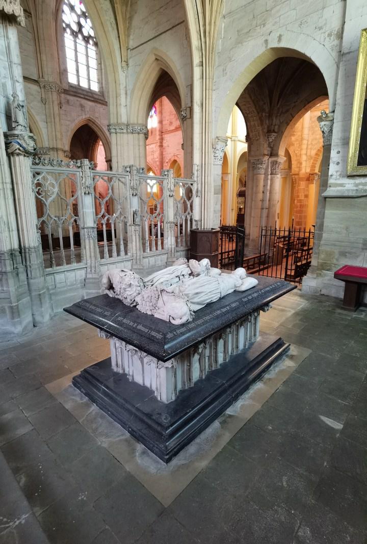 tombeaux des bourbons, chapelle neuve de souvigny