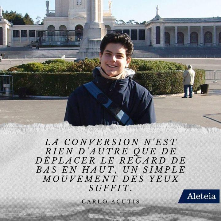 Les perles spirituelles prononcées par Carlo Acutis
