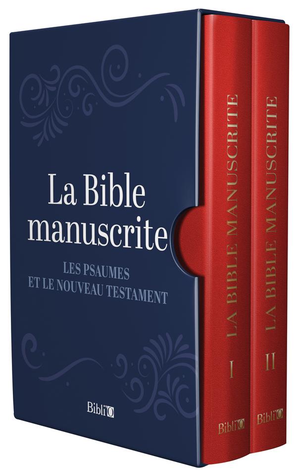 La Bible manuscrite, Editions Bibli'O