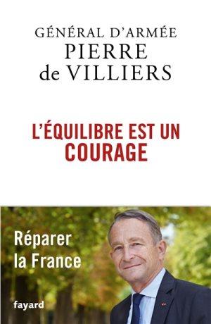couverture du livre l'équilibre est un courage