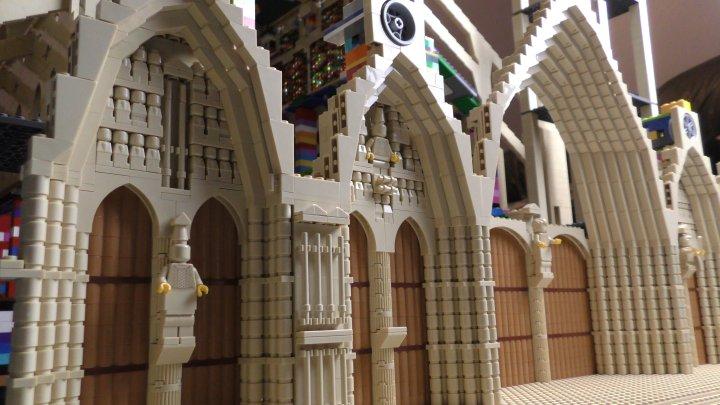 cathédrale de bourges en lego