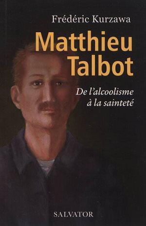 couverture livre Matthieu Talbot