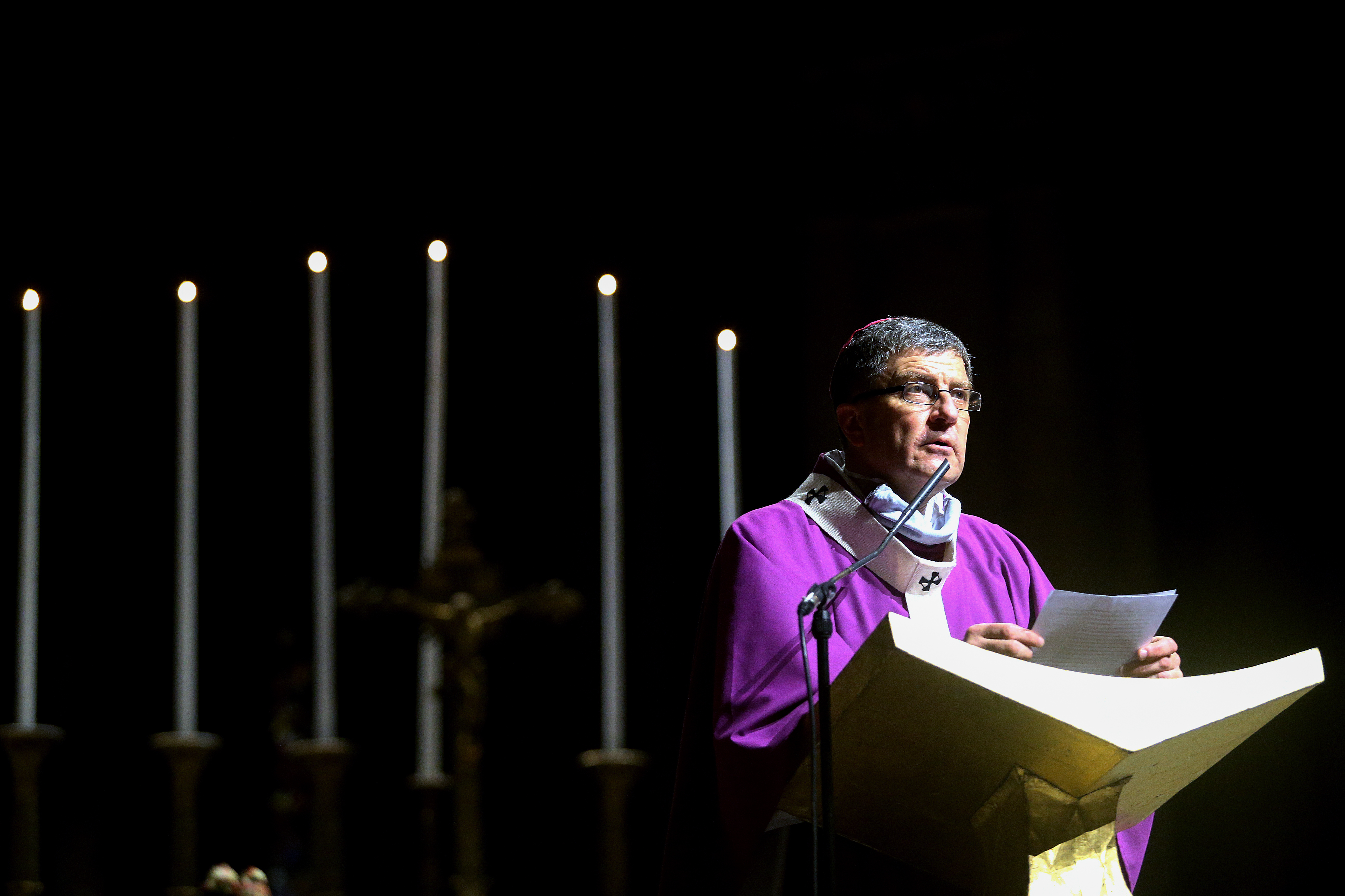 Mgr Eric de Moulins Beaufort - messe pour la France