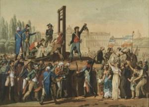 Exécution de Marie-Antoinette, Musée de la Révolution française - Vizille.jpg
