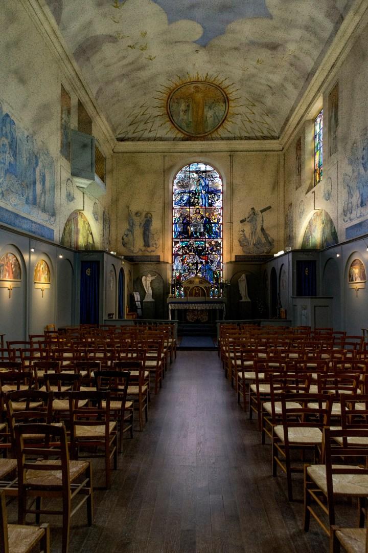 chapelle de Maurice Denis à saint germain en laye