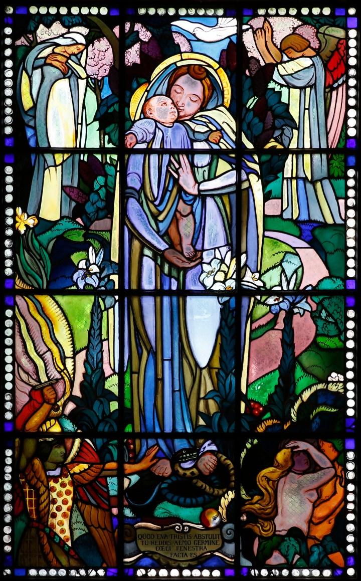 Vierge au baiser de Maurice Denis