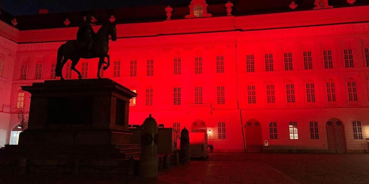 Parlement autrichien RedWeek AED