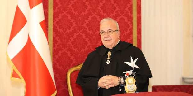 Fra' Marco Luzzago, Lieutenant du Grand Maître de l'Ordre de Malte