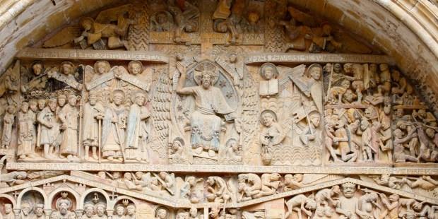 portail de sainte foy de conques