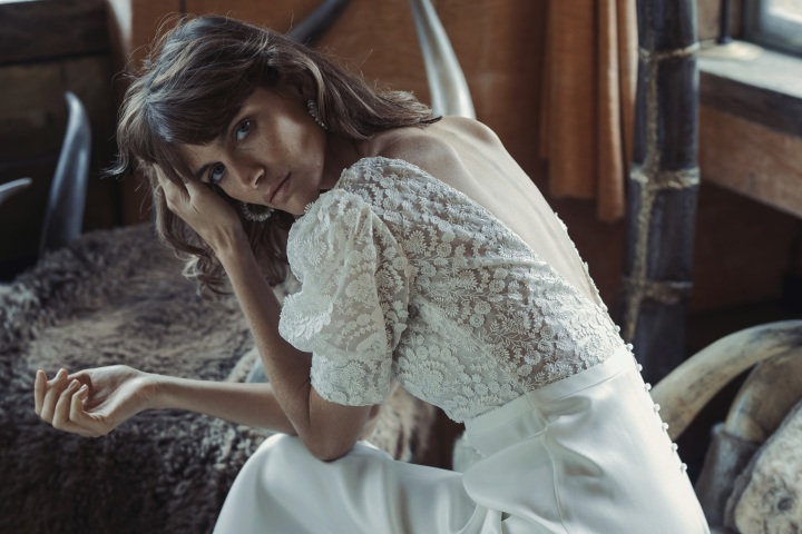 robe de mariée 2021 Laure de Sagazan