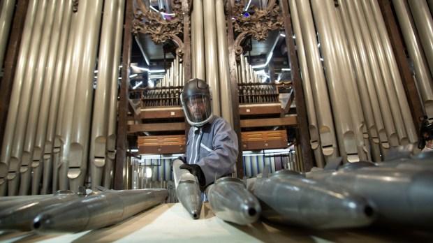 Orgue de Notre-Dame de Paris.