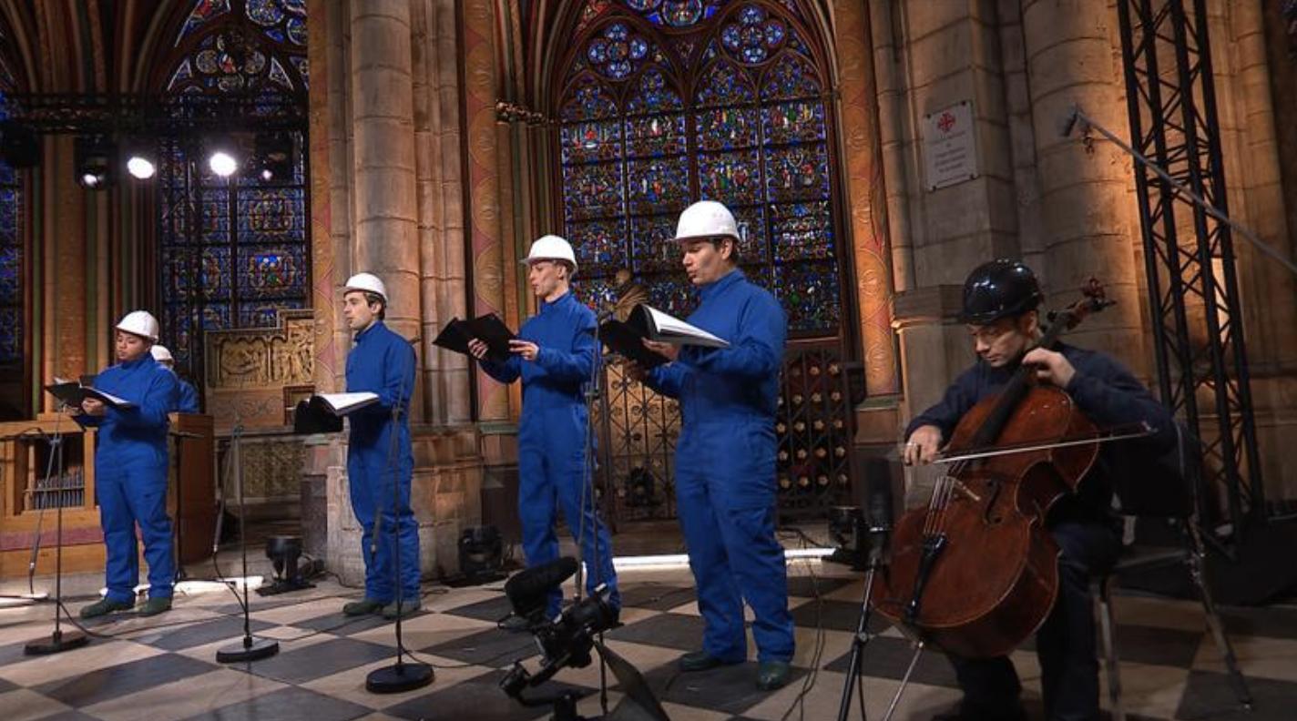concert à la cathédrale notre dame de paris