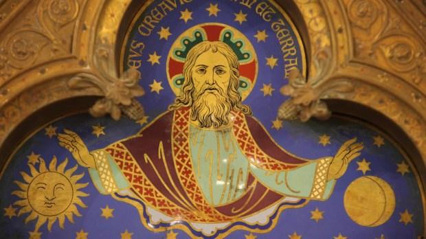 Jésus dans le Ciel