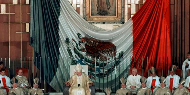 Jean Paul II Guadalupe
